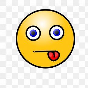 Confused Emoticon Face - Emoticon Smiley Tongue Clip Art PNG