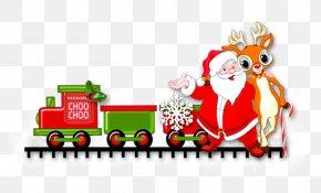 Santa Claus - Santa Claus Christmas Ornament Deer Clip Art PNG