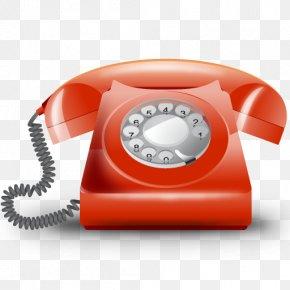 Telefono - Telephone Telephony Orange PNG