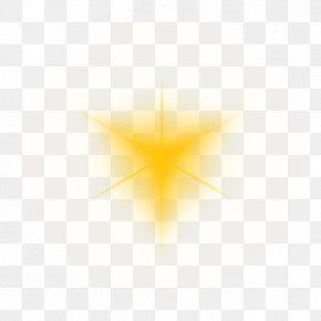 Halo Light Yellow Lens Vignette Effects - Euclidean Vector Point Wallpaper PNG
