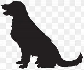Dog Silhouette Transparent Clip Art Image - Scotch Collie Cat Silhouette Clip Art PNG