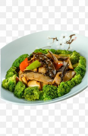 Broccoli Beans Mix - Vegetarian Cuisine American Chinese Cuisine Broccoli PNG