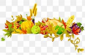 Transparent Thanksgiving Decor Clipart - Postharvest Cotton Picker Autumn Crop PNG