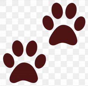 Dog Paw Print - Dog Paw Cat Clip Art PNG