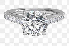 Engagement Ring - Engagement Ring Jewellery Ritani Diamond PNG