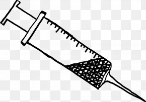 Syringe - Syringe Hypodermic Needle Clip Art PNG