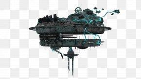 Spaceship - Spacecraft YouTube Rendering PNG