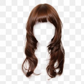 Free Wig Hairstyle Dress Material Matting - Hairstyle Wig Long Hair PNG