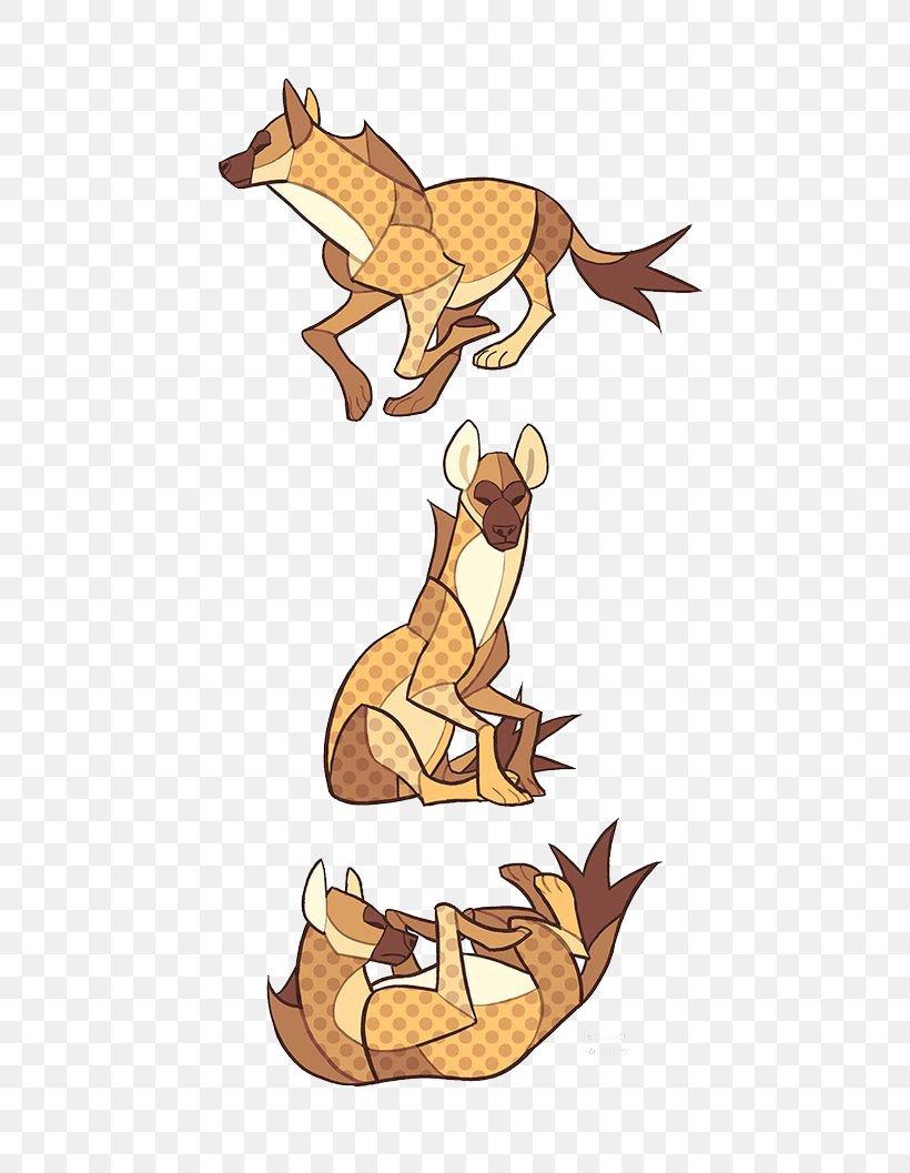 Canidae Hyena Drawing Animal Illustration, PNG, 564x1057px, Pembroke Welsh Corgi, Animal, Art, Carnivoran, Cartoon Download Free