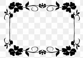 Shareware Treasure Chest: Clip Art Collection Borders And Frames Flower Image PNG