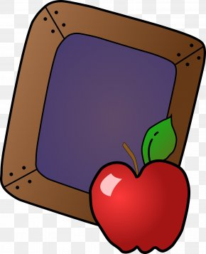 Apple Tray - Student School Education Clip Art PNG
