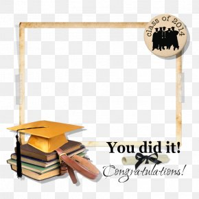 GRADUATION BORDER - Digital Scrapbooking Graduation Ceremony Clip Art PNG