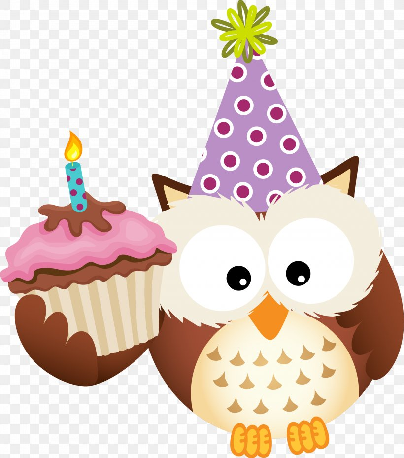 Excellent Owl Birthday Clip Art Png 2501X2835Px Owl Baking Cup Birthday Funny Birthday Cards Online Fluifree Goldxyz