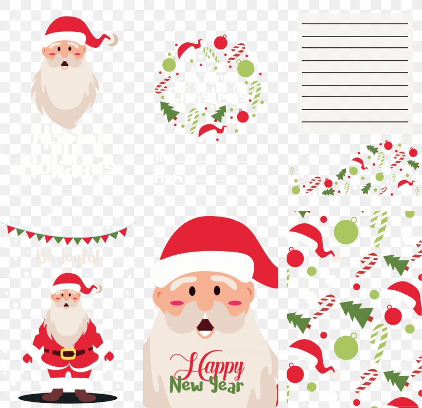 Santa Claus Christmas Ornament Paper Clip Art, PNG, 1059x1025px, Santa Claus, Area, Christmas, Christmas Decoration, Christmas Ornament Download Free