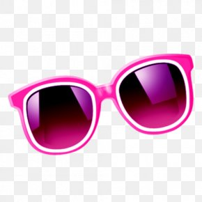 A Pair Of Glasses - Goggles Sunglasses Lens PNG