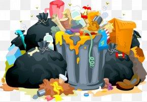 Garbage - Rubbish Bins & Waste Paper Baskets Bin Bag Clip Art PNG