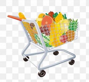 Vector Shopping Cart - Shopping Cart Euclidean Vector Icon PNG