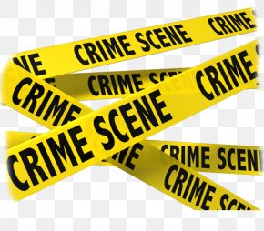Police Tape - Crime Scene Barricade Tape Detective Clip Art PNG