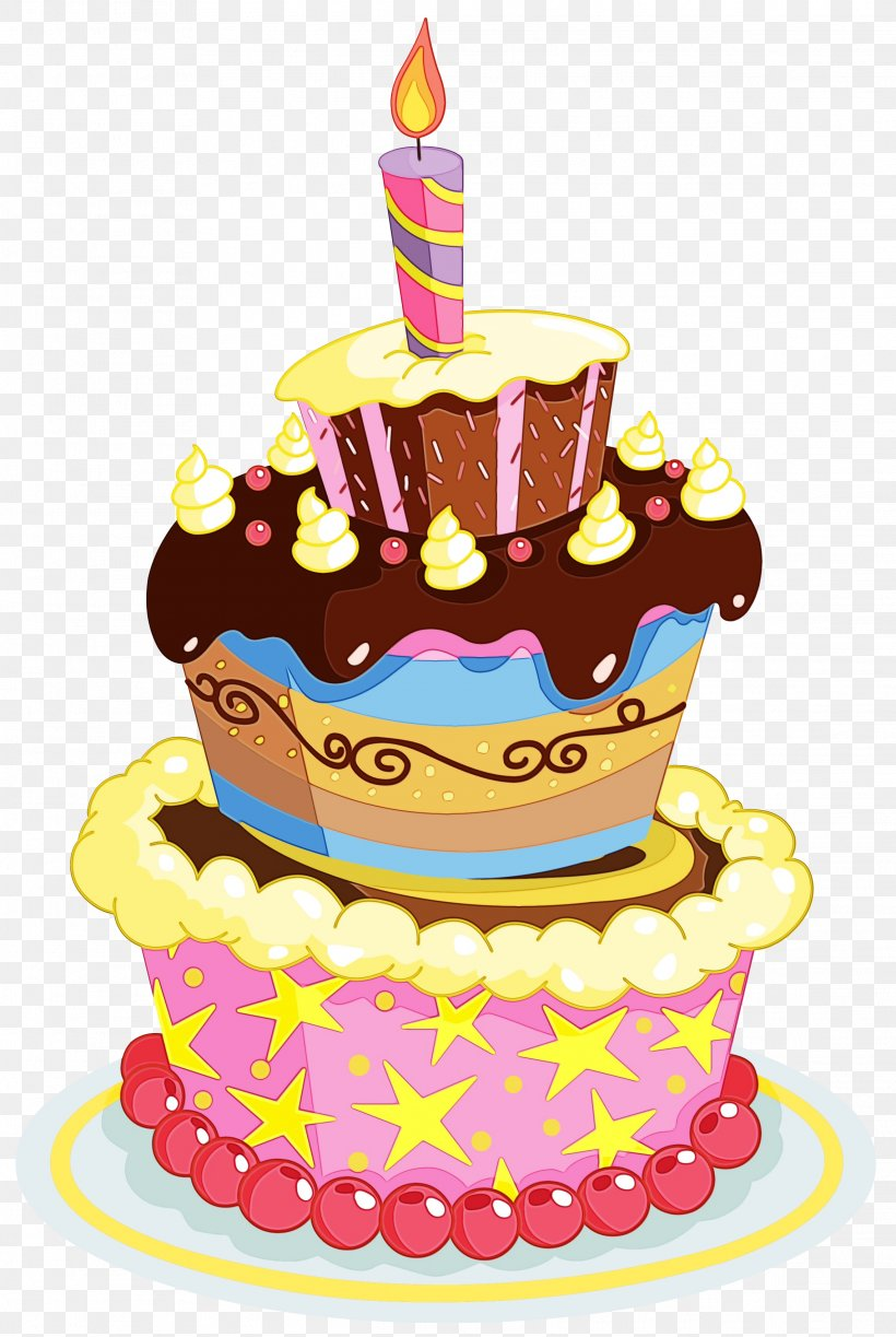 Awe Inspiring Birthday Cake Cartoon Png 2282X3405Px Watercolor Baked Goods Funny Birthday Cards Online Alyptdamsfinfo
