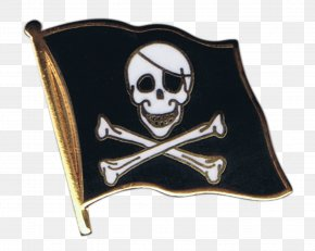 Flag - Jolly Roger Flag Skull And Crossbones Fahne Piracy PNG