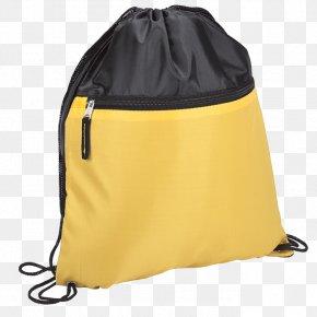 Bag - Bag Drawstring Textile Zipper Sport PNG