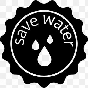 Save Water - Water Efficiency Water Conservation Logo PNG
