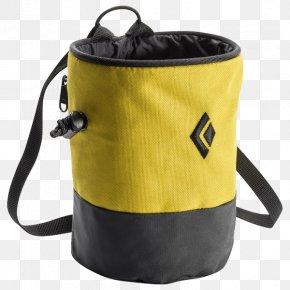 Bag - Magnesiasack Bag Chalk Black Diamond Equipment Zipper PNG