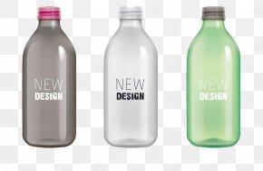 Creative Water Bottle - Plastic Bottle Water Bottle Glass PNG