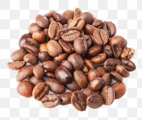 A Pile Of Coffee Beans - Coffee Bean Cappuccino Java Euclidean Vector PNG