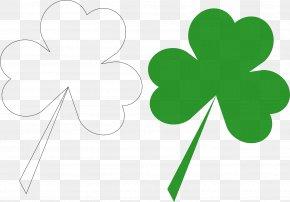 Clover - Shamrock Saint Patrick's Day Four-leaf Clover Clip Art PNG
