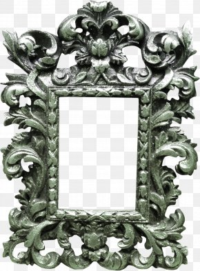 Iron Color Picture Frame - Picture Frame PNG