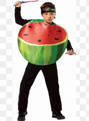 Halloween Theme - Homemade Halloween Halloween Costume Watermelon Clothing PNG