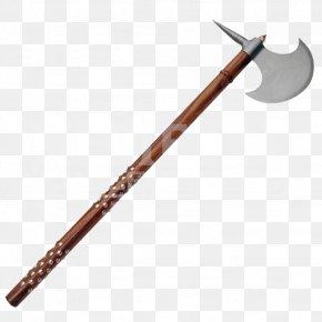 Medieval - Battle Axe War Scythe Weapon Dane Axe PNG
