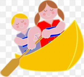 Canoe Cliparts - Canoe Rowing Boat Clip Art PNG