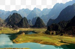 Baise Haokun Lake Scenic - Tianyang County You River Chengbi River Youjiang District Pingguo County PNG