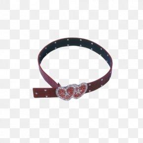 Heart-shaped Belt Picture - Belt Heart Red PNG