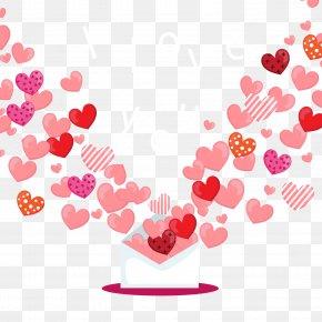 Envelope Vector Love Background - Love Envelope Computer File PNG