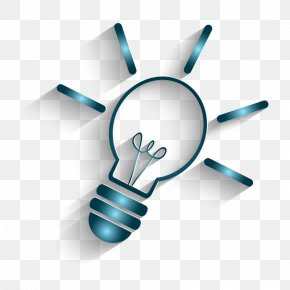 Blue Light Bulb Vector - Nepal General Knowledge Quiz Test PNG