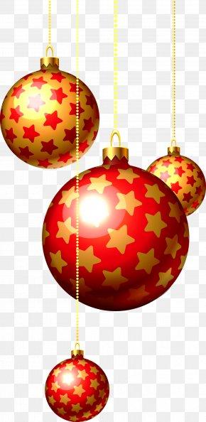Christmas Balls - Christmas Decoration Santa Claus Christmas Ornament PNG