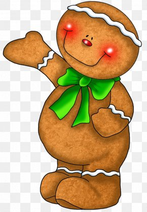 Bread - Gingerbread House Ginger Snap Gingerbread Man Christmas Graphics PNG