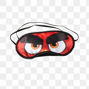 Sleeping Mask - Goggles Blindfold Red Sunglasses PNG