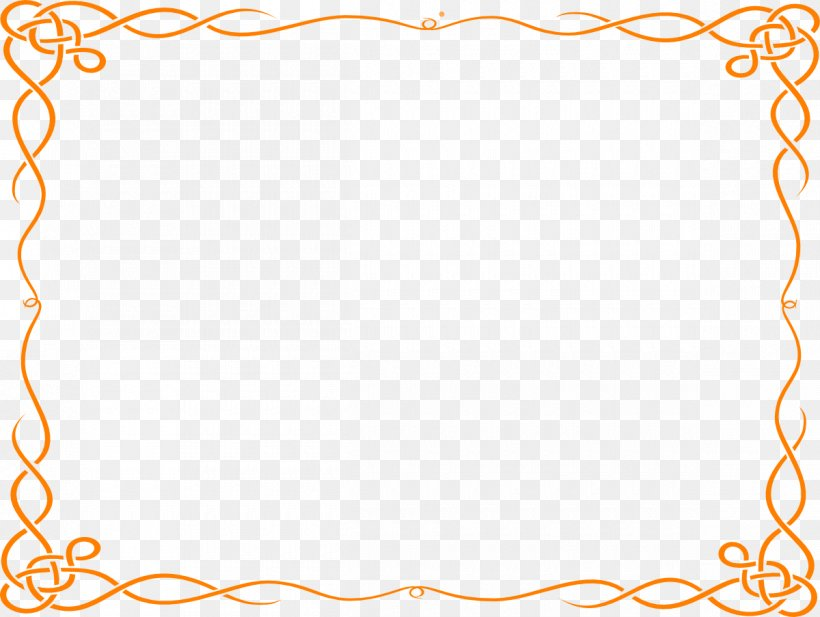 Borders And Frames Orange Free Content Clip Art, PNG, 1200x903px, Borders And Frames, Area, Border, Com, Decorative Arts Download Free