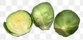 Brussels Sprouts Cut - Brussels Sprouts Cruciferous Vegetables Cabbage PNG
