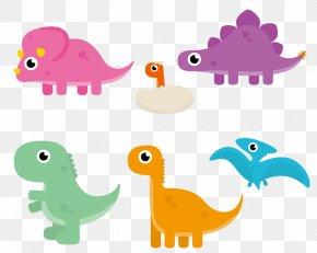 Cute Cartoon Dinosaur - Dinosaur Cartoon Animation Clip Art PNG