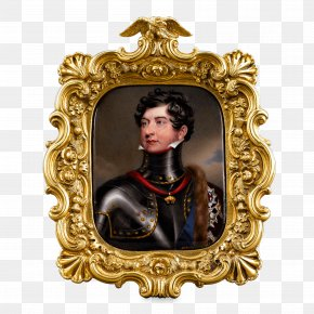 United Kingdom Of Great Britain And Ireland Monarch George IV State Diadem Painting Image PNG