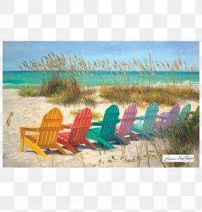 Frameless Painting - Painting Art Beach Paper Clip Art PNG