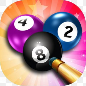 8 Ball Pool Image - 8 Ball Pool Eight-ball Billiard Ball Billiards PNG