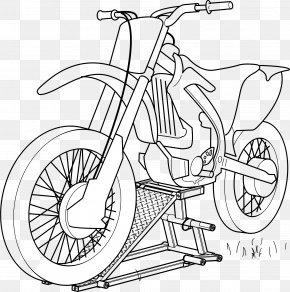 Motorcycle Sprockets Cliparts - Car Motorcycle Coloring Book Illustration PNG