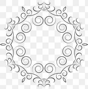 Simple Frames - Black And White Picture Frames Clip Art PNG