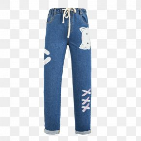 Jeans - Jeans Cat Trousers PNG